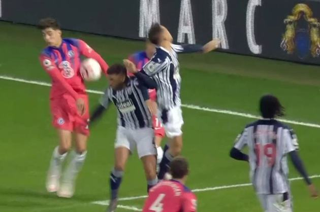 'How people can say that is not a handball is beyond me': West Brom boss Bilic left furious after Kai Havertz handle the ball - Bóng Đá