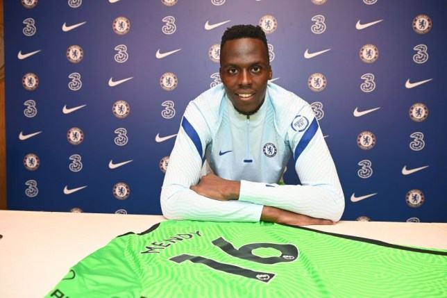 Frank Lampard explains why Edouard Mendy will not make Chelsea debut against West Brom  - Bóng Đá