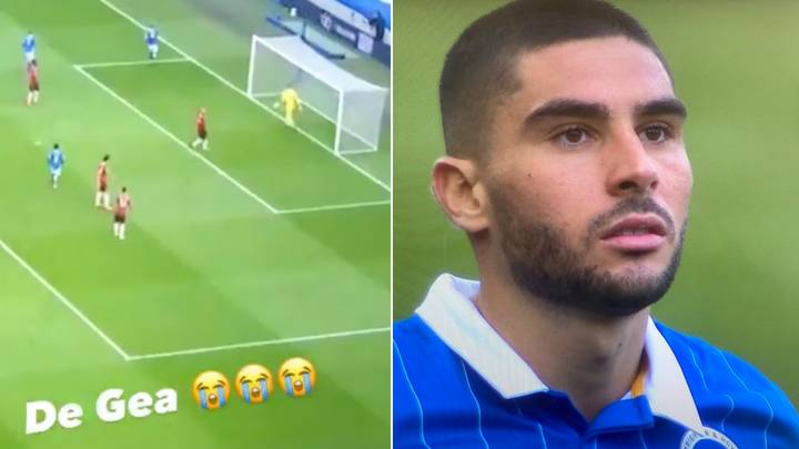 Footage Shows How David De Gea Reacted To Being Mugged Off By Neal Maupay - Bóng Đá