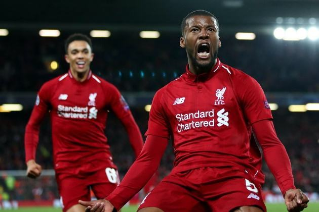 Georginio Wijnaldum has reportedly rejected a contract extension from Liverpool and will be able to leave at the end of the season.  - Bóng Đá