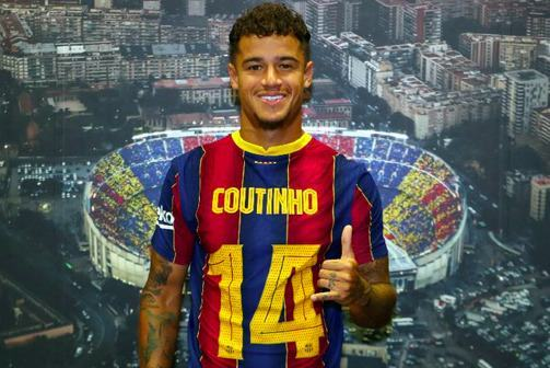 Philippe Coutinho New Number At Barcelona Suggests He's Staying - Bóng Đá
