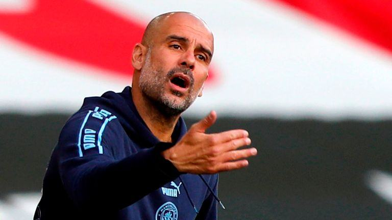 Pep Guardiola says Manchester City have 13 fit senior players available for Leicester game - Bóng Đá