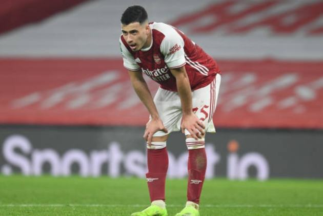 Gabriel Martinelli provides injury update after Mikel Arteta accused of