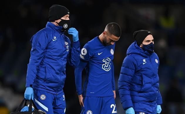 'I hope this is a minor injury' - Chelsea boss Lampard upbeat on Ziyech problem - Bóng Đá