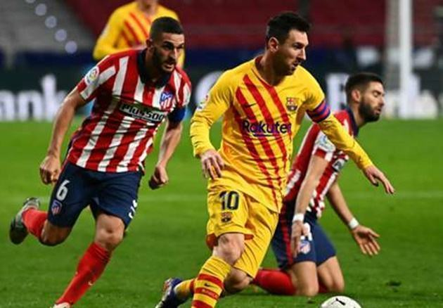 Koke explains how he'd try to convince Messi to sign for Atletico Madrid - Bóng Đá