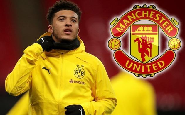 Jadon Sancho's ship to Man Utd 'has sailed' after years of transfer speculation - Bóng Đá
