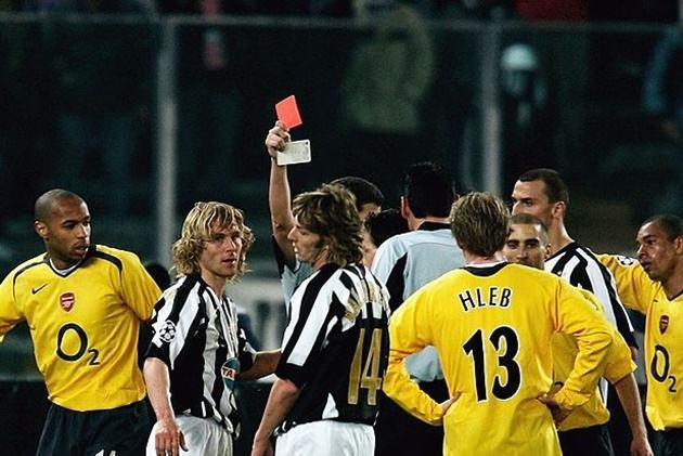 Teams that have seen the most opposing players sent off against them in the Champions League - Bóng Đá