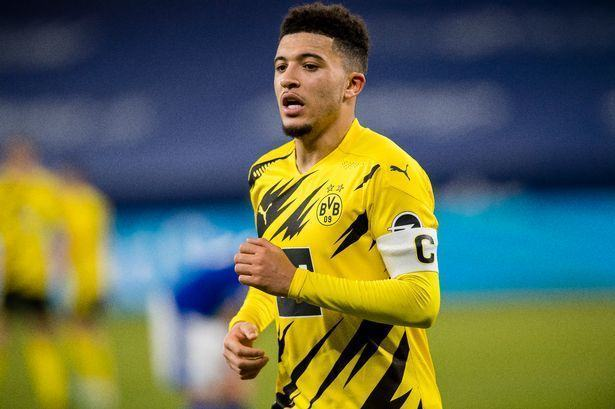 Jadon Sancho is set to miss England's three World Cup Qualifiers later this month after picking up an injury for Borussia Dortmund. - Bóng Đá
