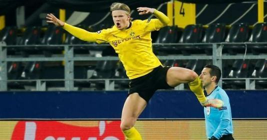 Haaland sets new Champions League record after disallowed goal and penalty retake - Bóng Đá